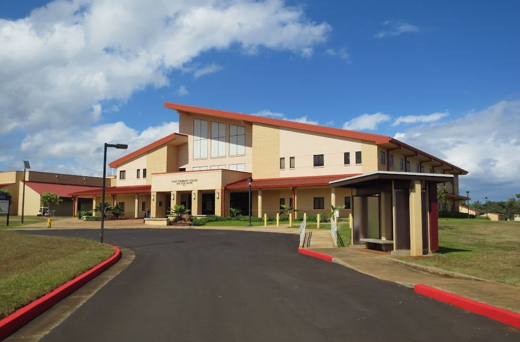 Kauai Community College Ranked #7 in the US; Hawaii Community College System #1 in Nation