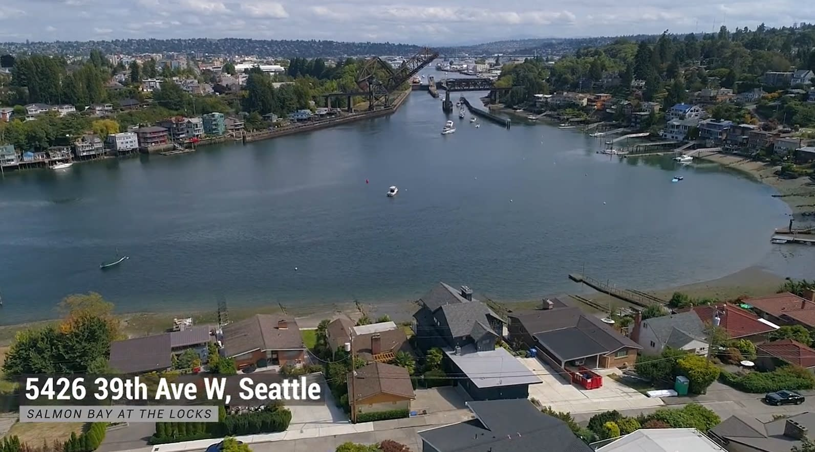 5426 39th Ave W, Seattle - Waterfront In Salmon Bay video preview