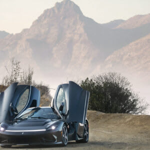 The EV Supercar Concepts and Hybrids That Stole the Show at Monterey Car Week