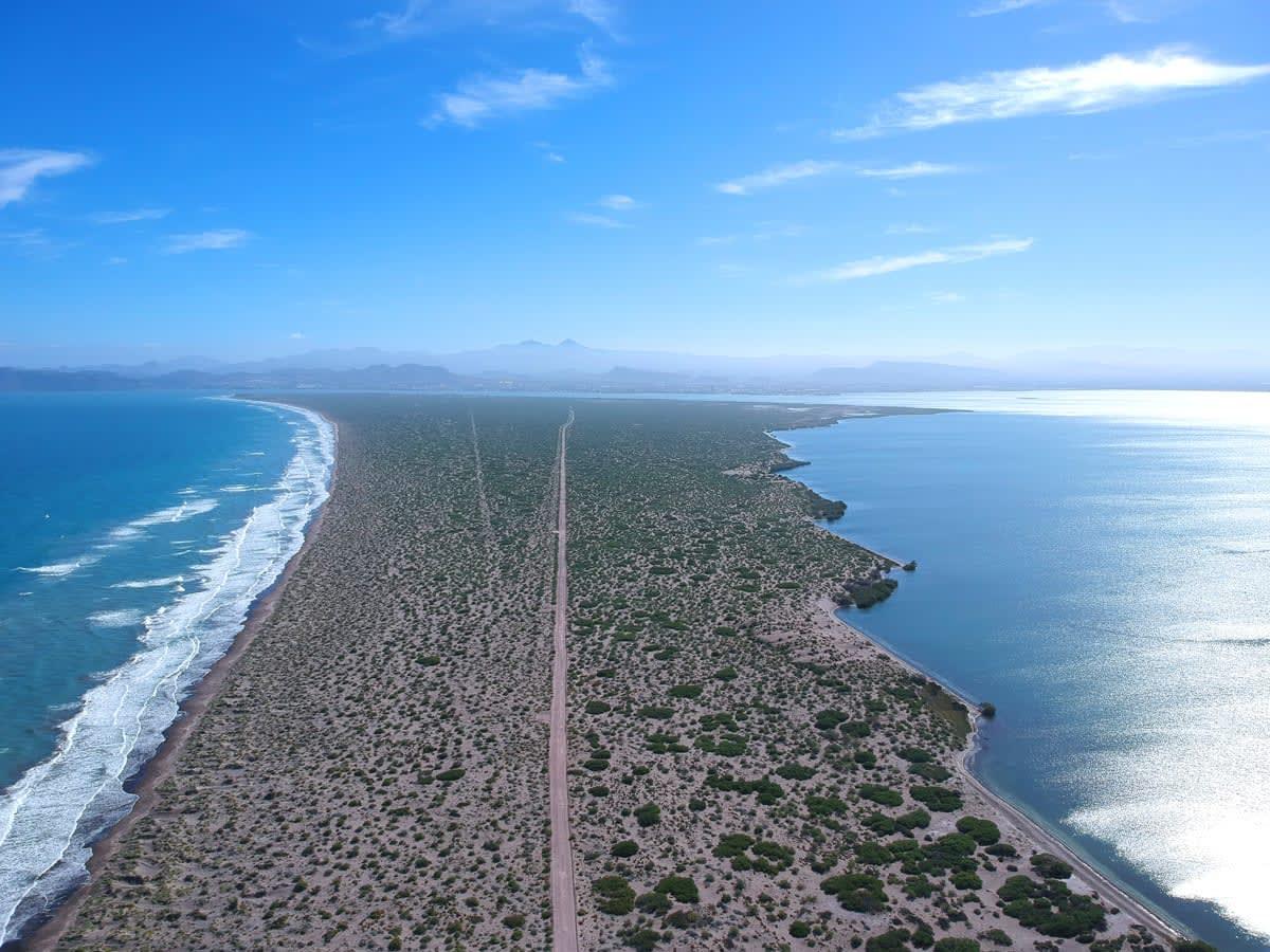 VIDEO: Beachfront Lots, El Mogote, La Paz Mexico