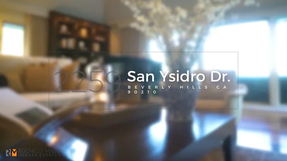 2259 SAN YSIDRO DRIVE video preview