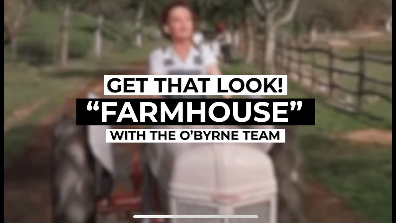 Get That Look: Farmhouse video preview
