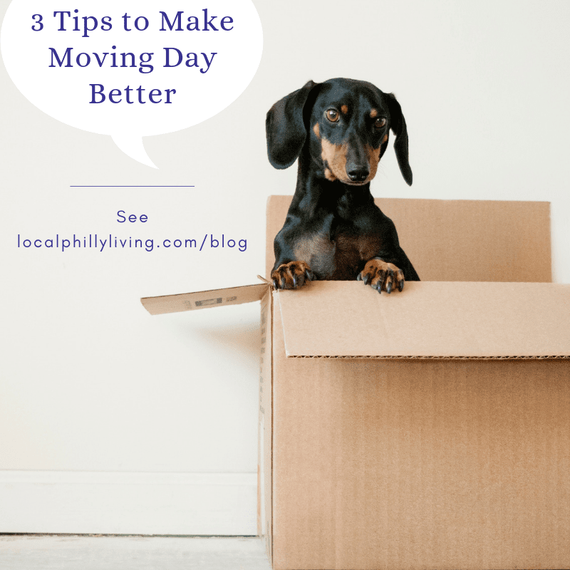 3 Things to Take Care of before Moving Day