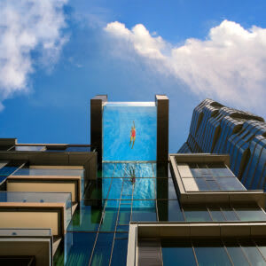 The World's First Floating Pool