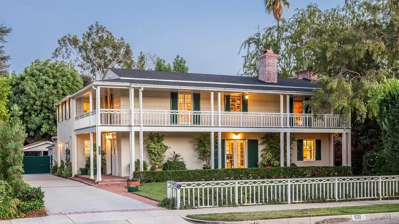 Handsome Monterey Revival Estate | 520 Bellmore Way | in Pasadena California video preview