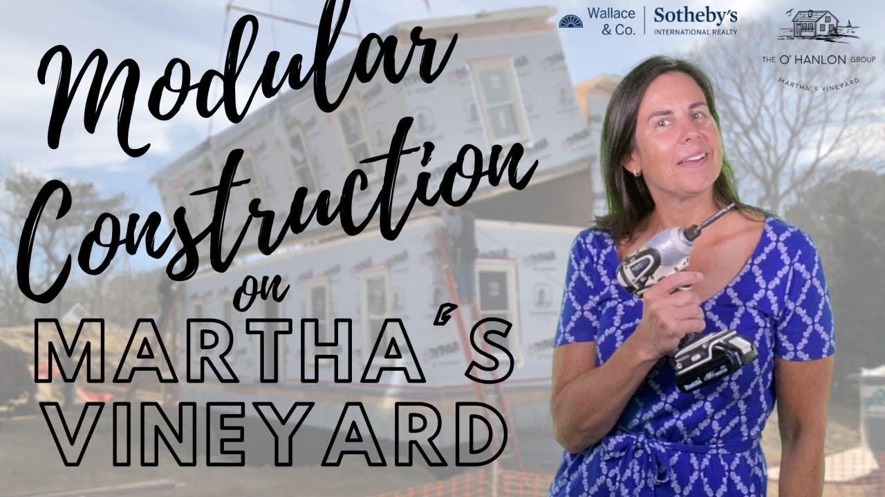 Modular Construction on Martha's Vineyard video preview