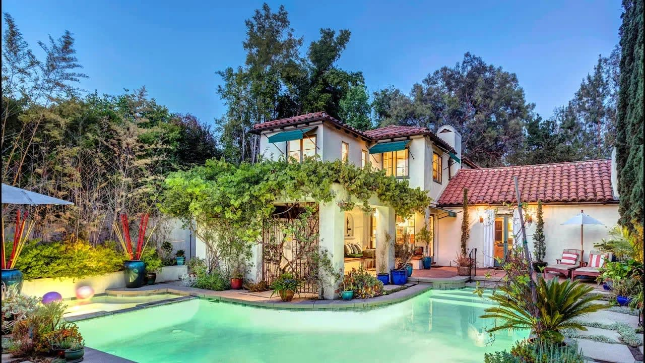 Exquisite Spanish Colonial Revival | 869 S Oak Knoll Ave | in Pasadena California video preview