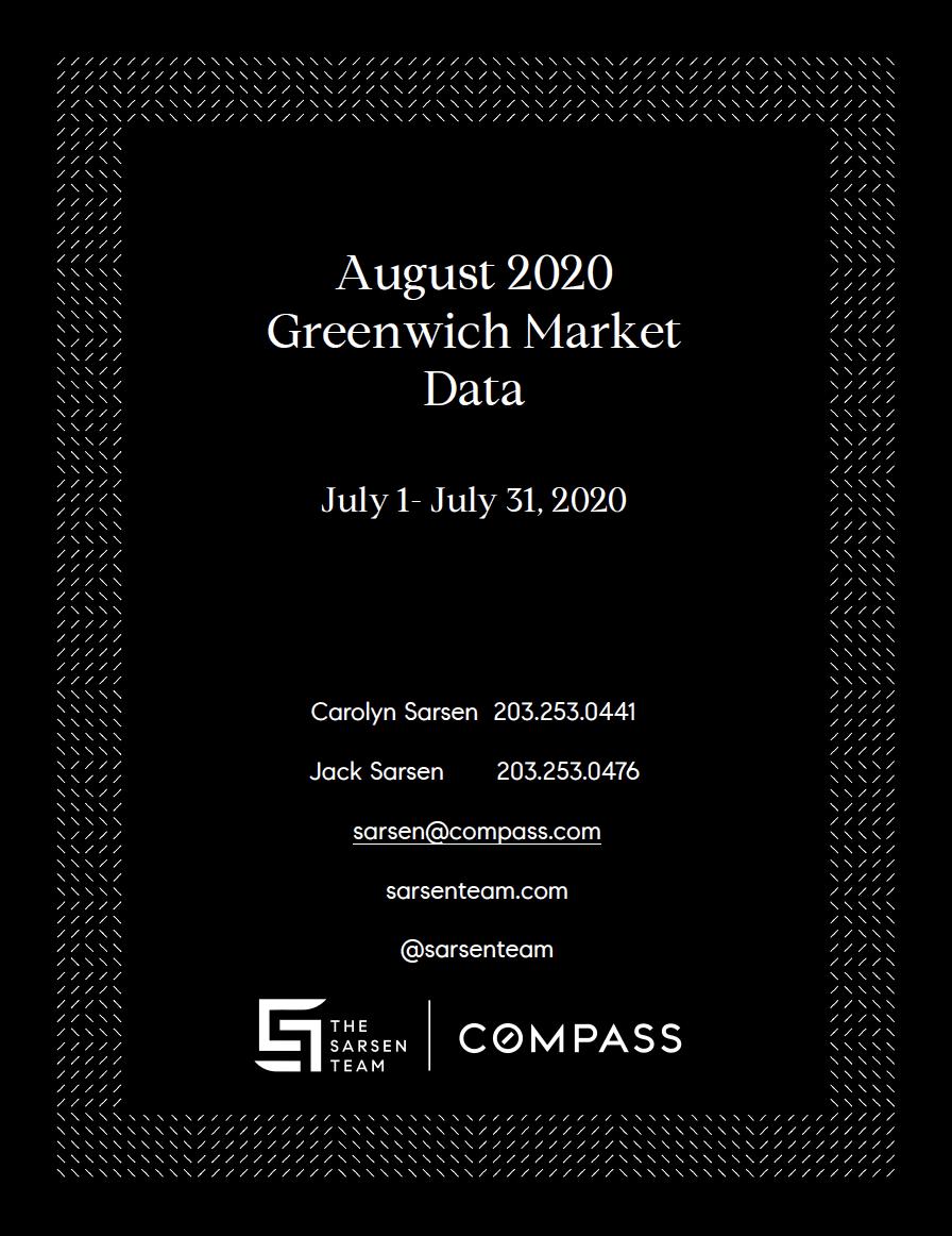 Sarsen Team August 2020 Greenwich Market Data