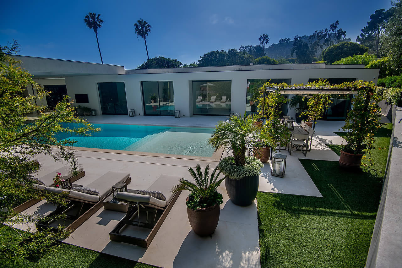 Furnished Trousdale Warm Modern Masterpiece