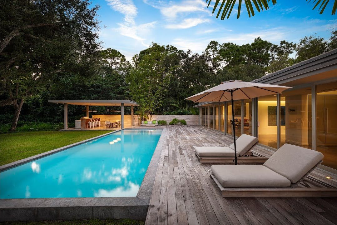 Custom Built Mid-Century Tropical Modern Estate | 6080 SW 102 St. video preview