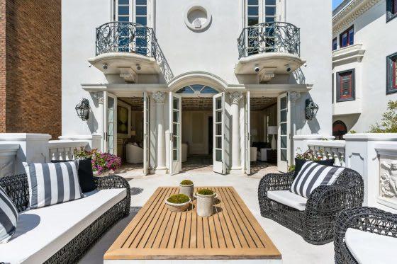 Inside a Parisian-Inspired San Francisco Manor