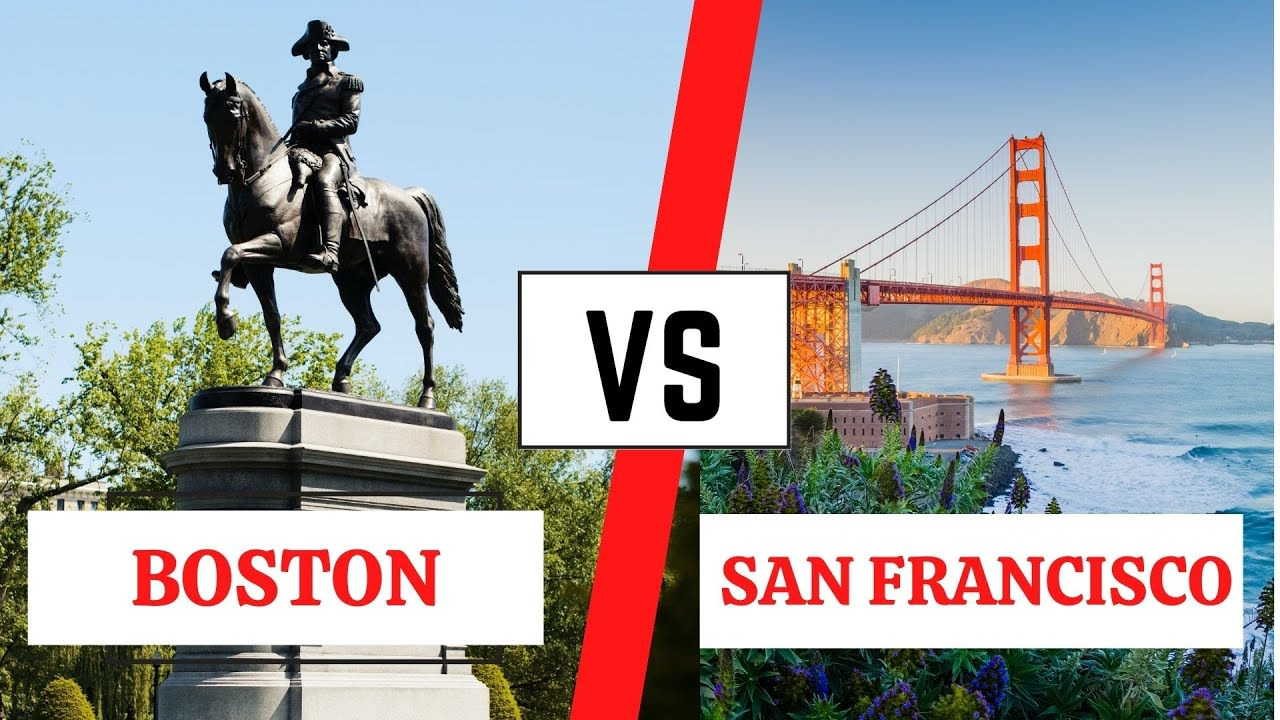 Living in BOSTON vs SAN FRANCISCO // Watch this before moving video preview