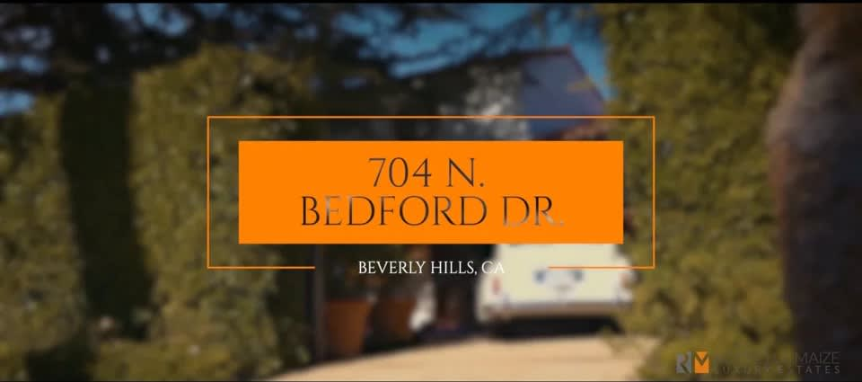 704 N BEDFORD DRIVE video preview