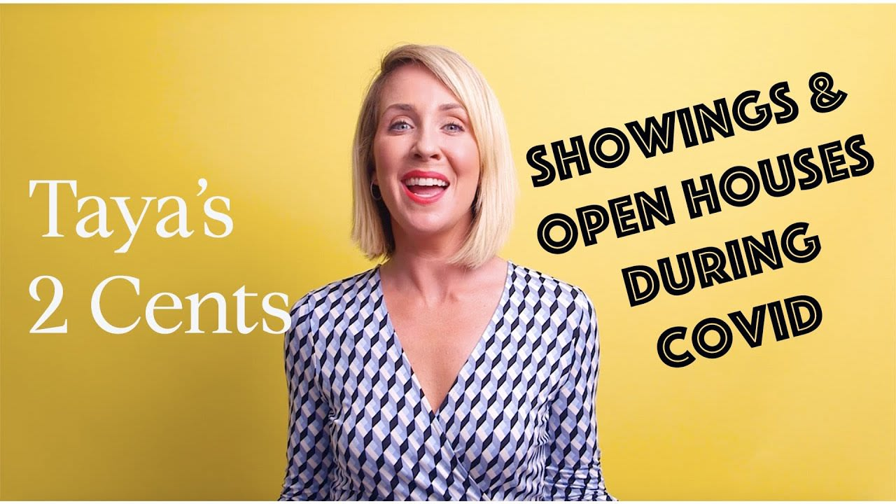 Showings & Open Houses During COVID-19 video preview