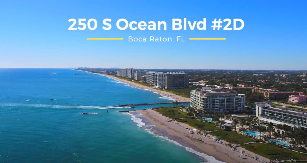 250 S Ocean Blvd. 2D, Boca Raton, FL video preview