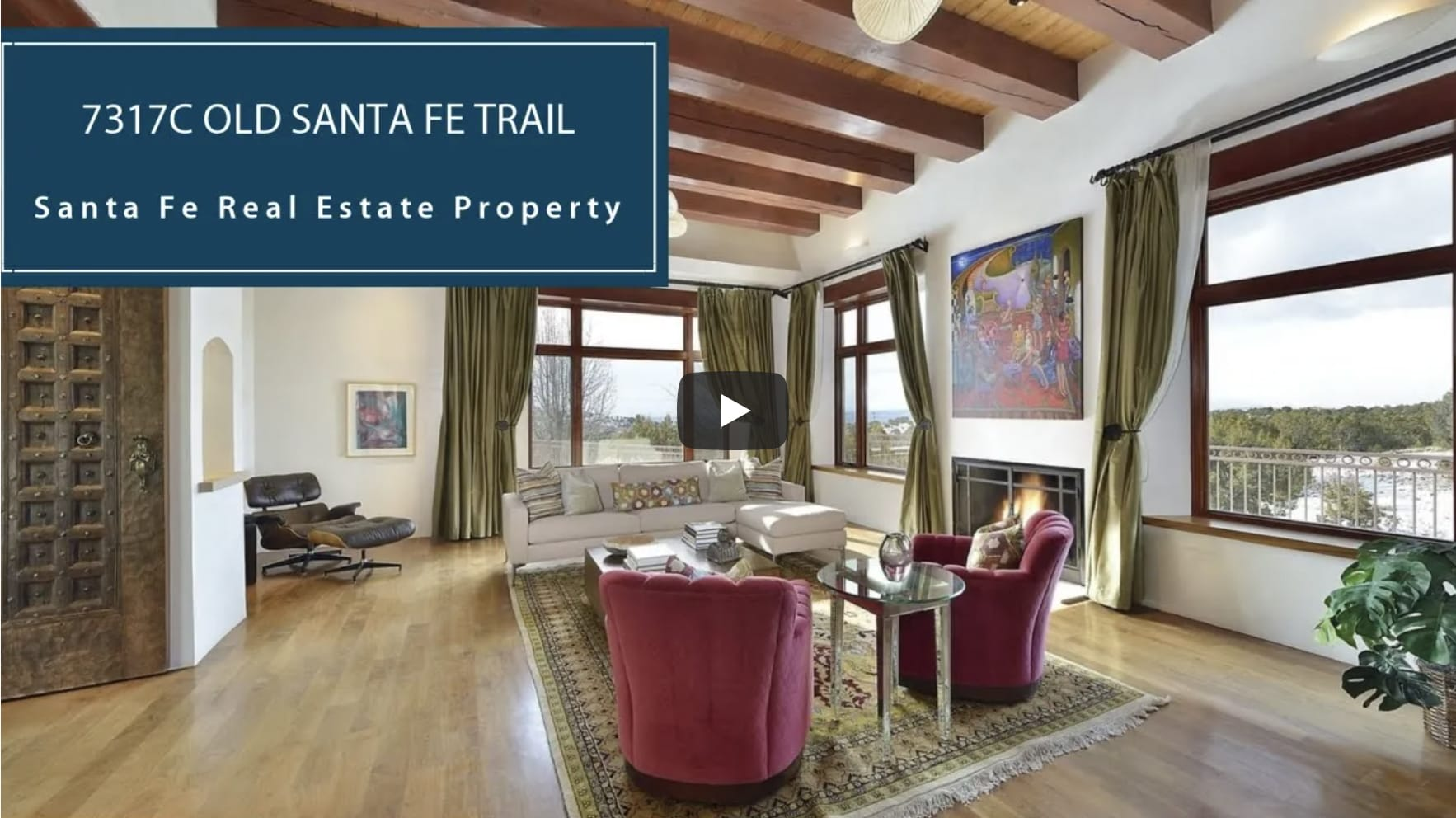 Estate w/ Majestic Views on 2+ Acres | 7317C Old Santa Fe Trail video preview