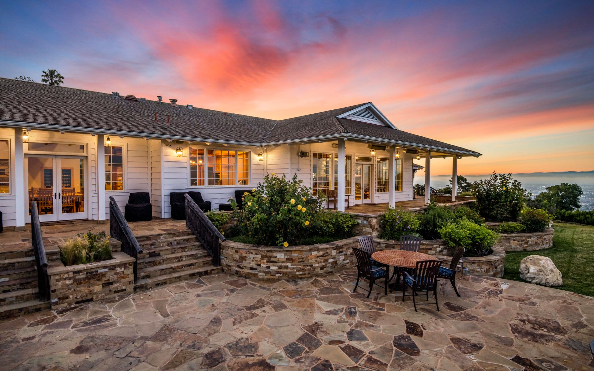 Sprawling estate with panoramic views