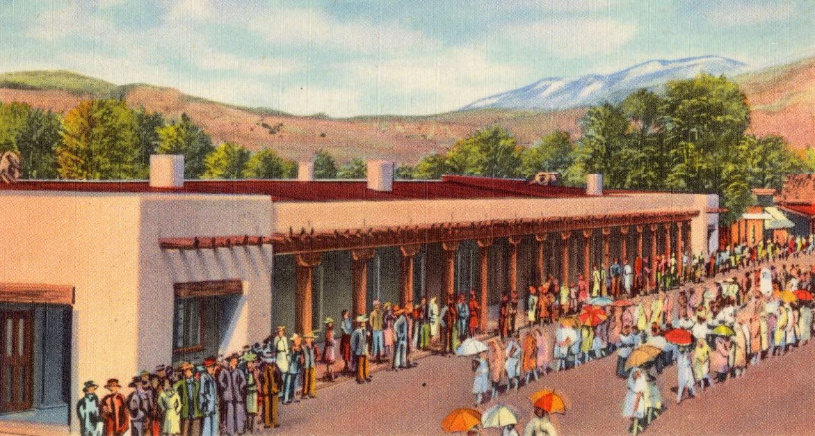 Palace of the Governors - Santa Fe, New Mexico video preview