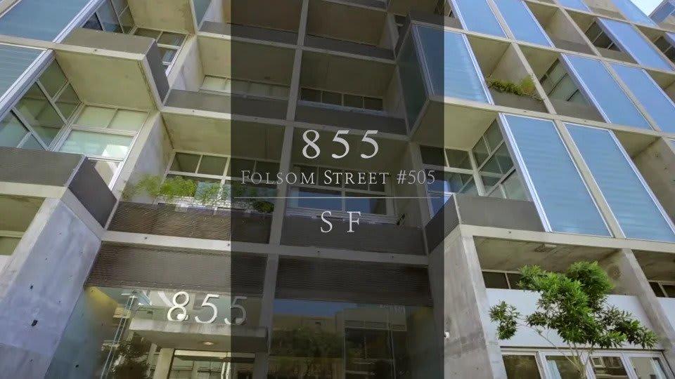 855 Folsom #505 video preview