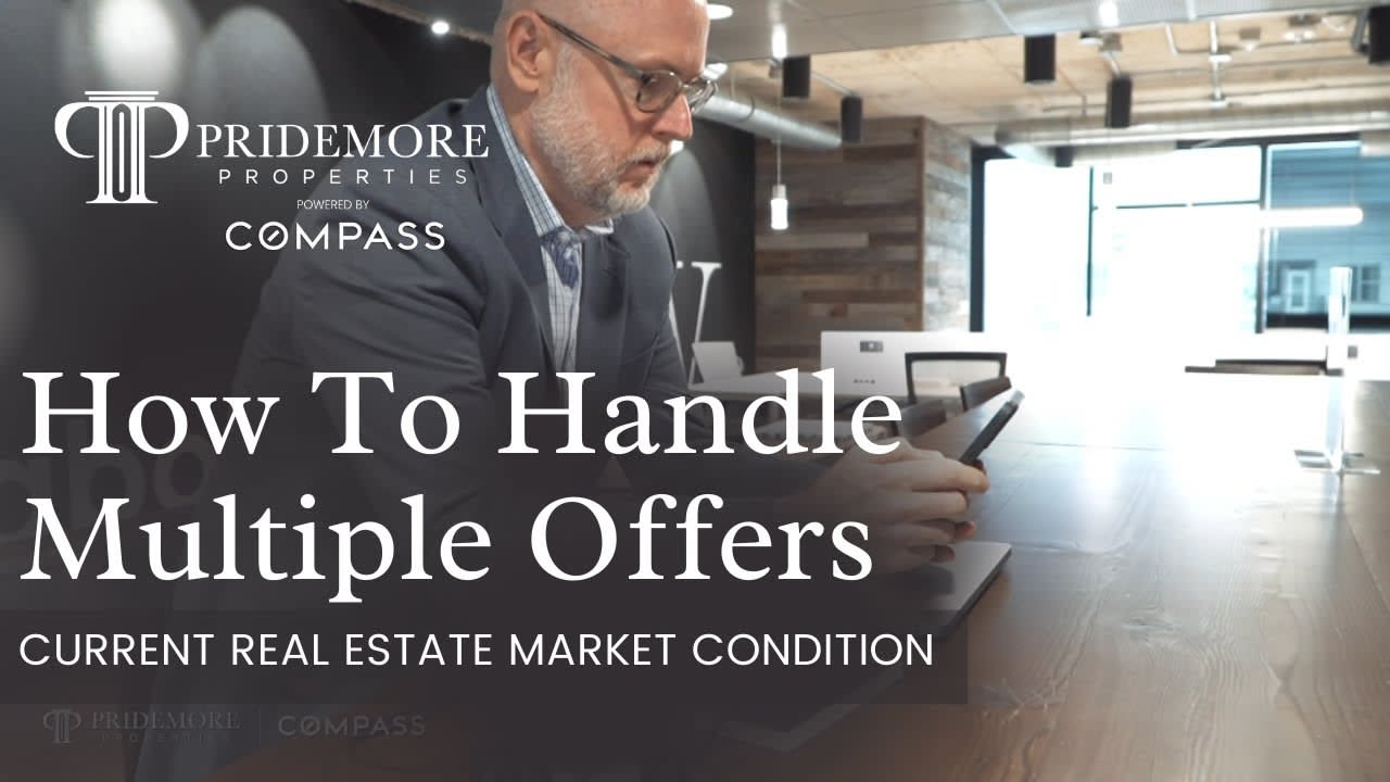 Current Housing Market   How to Handle Multiple Offers   Seller's Guide   Real Estate 2021 video preview