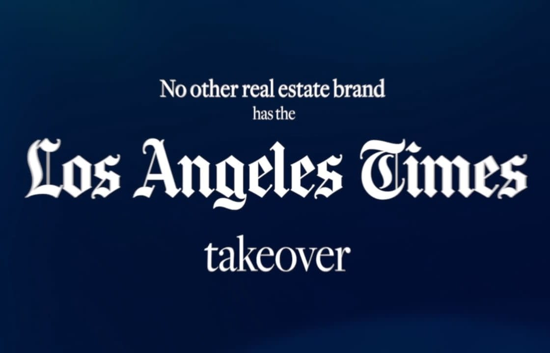 Sotheby's International Realty L.A Times Takeover video preview