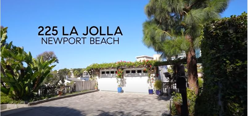 Welcome to 225 La Jolla, Newport Beach