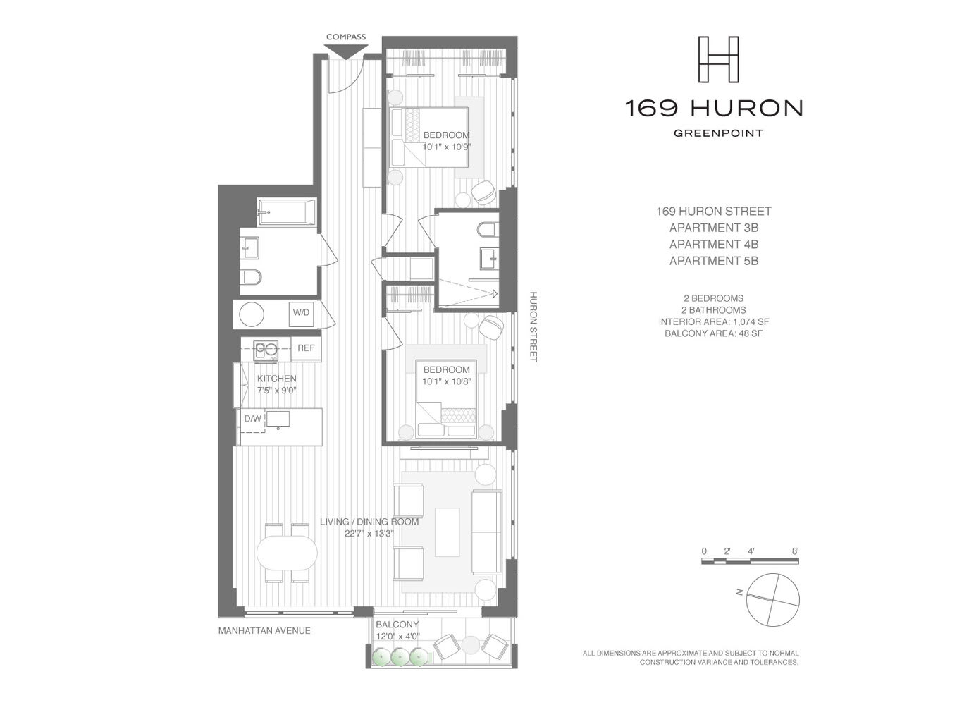 169 Huron Street, Unit 3B photo