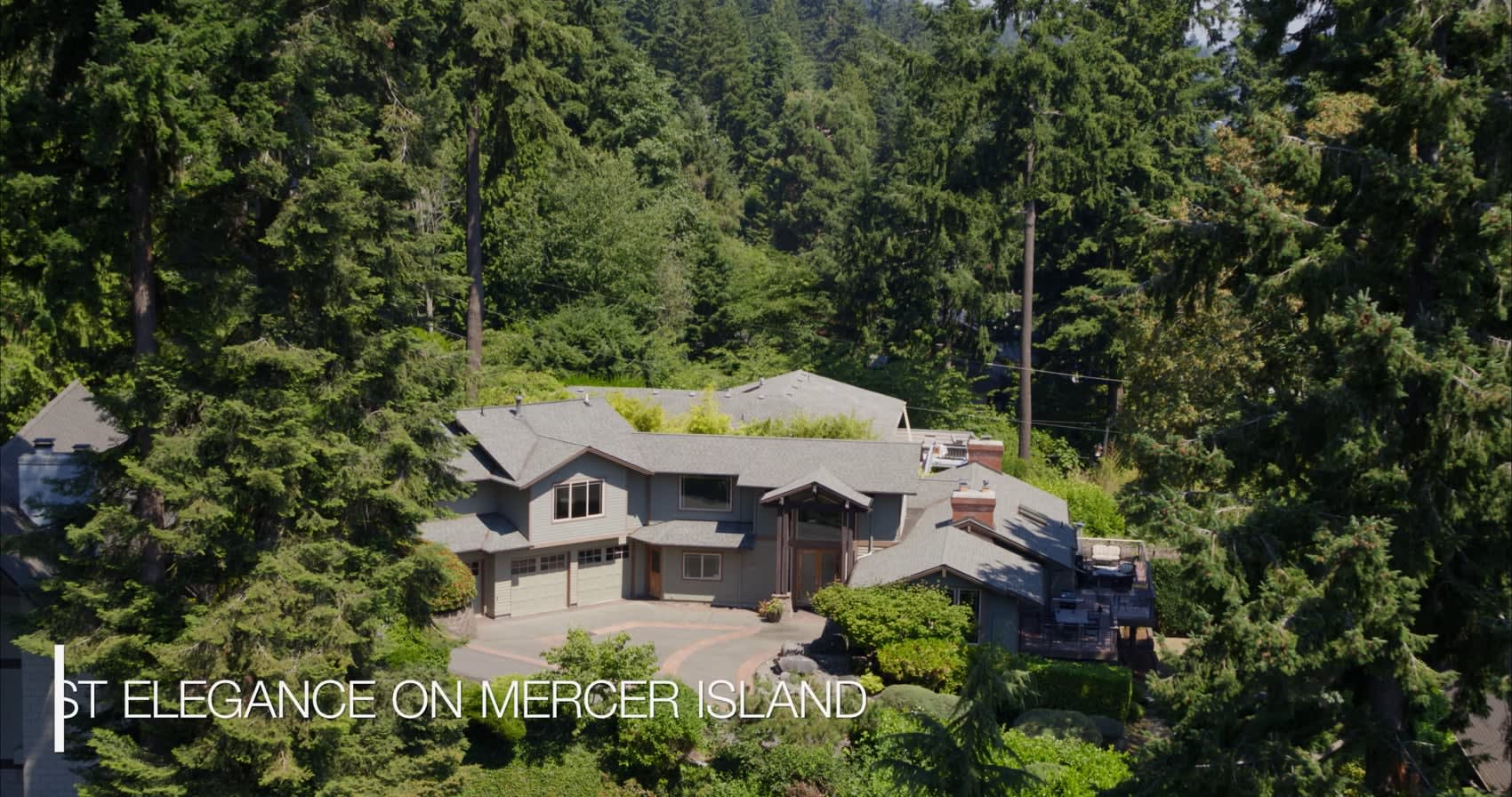 """9610 SE 61st Place """"Timeless Northwest Elegance"""" video preview"""
