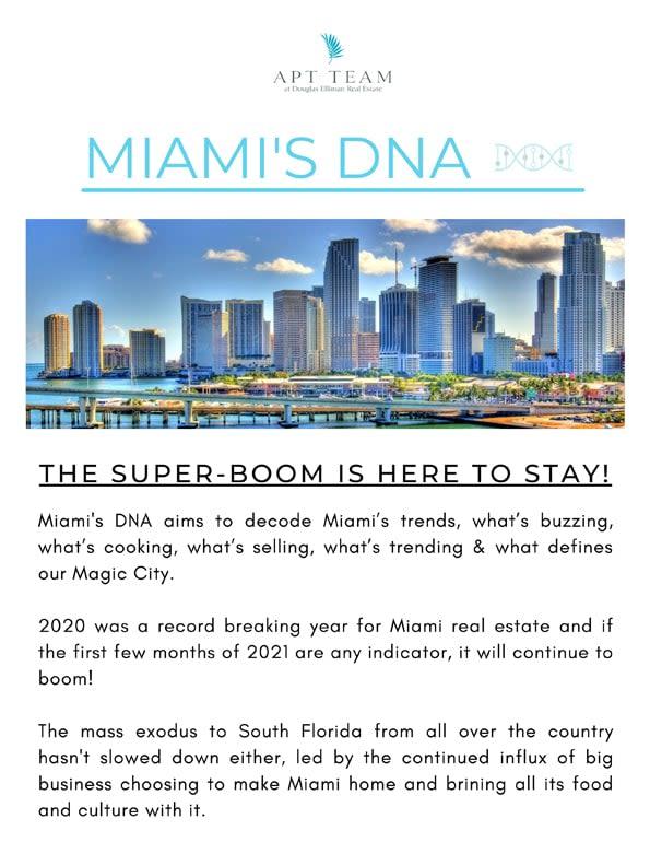 Miami's DNA