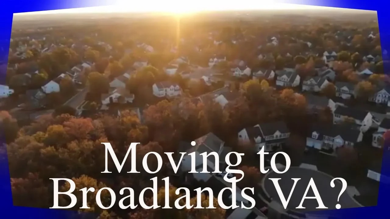 Moving to Broadlands VA? video preview