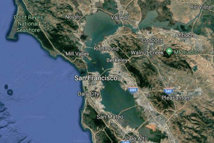 Price-mapping the Bay Area's neighborhoods