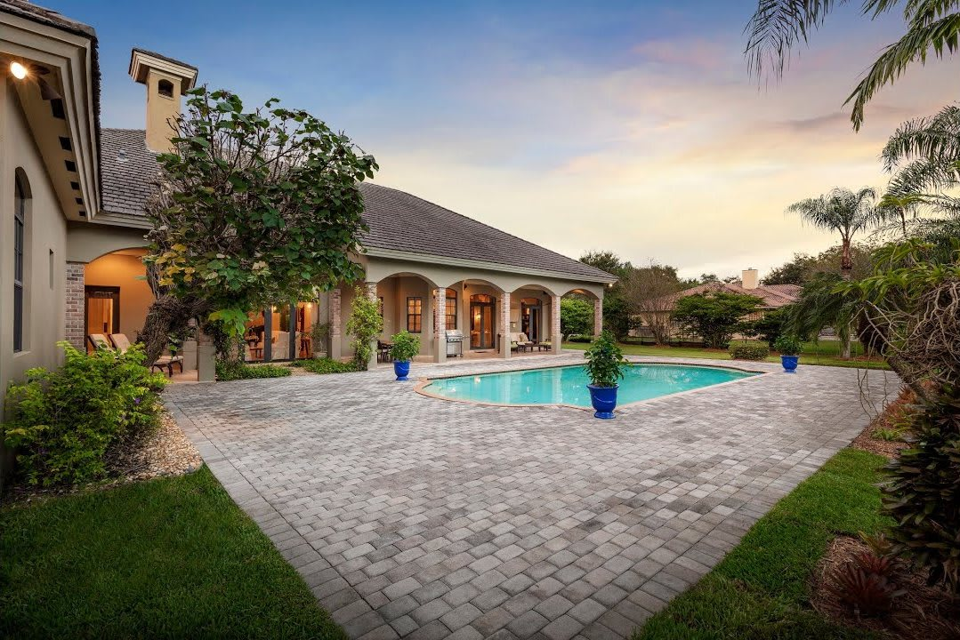 One-of-a-kind Gated French Country Estate | 9690 SW 120 St, Miami video preview