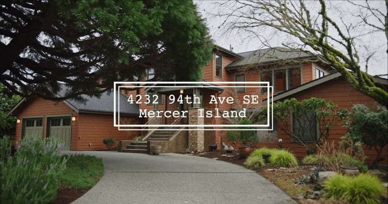 """4232 94th Ave SE """"Stunning Northwest Style"""" video preview"""