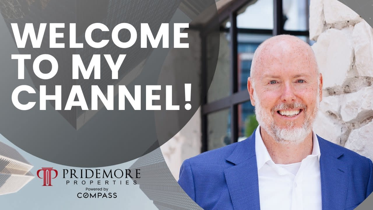 A Real Estate Youtube Channel For You!   Welcome To My Channel   Scott Pridemore video preview