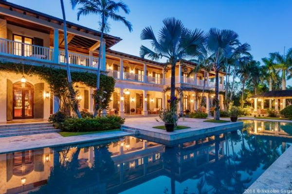 Former Univision executive sells South Florida mansion for $30M