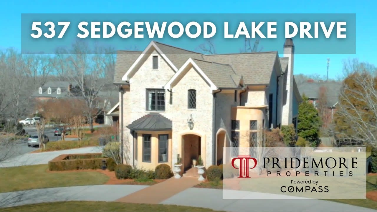 Look Inside This Spectacular Custom Home in Sedgewood Place   537 Sedgewood Lake Drive video preview