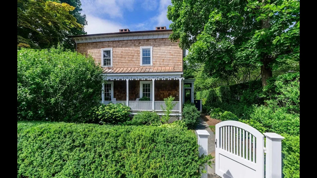 12 Suffolk Street, Sag Harbor Village, New York video preview