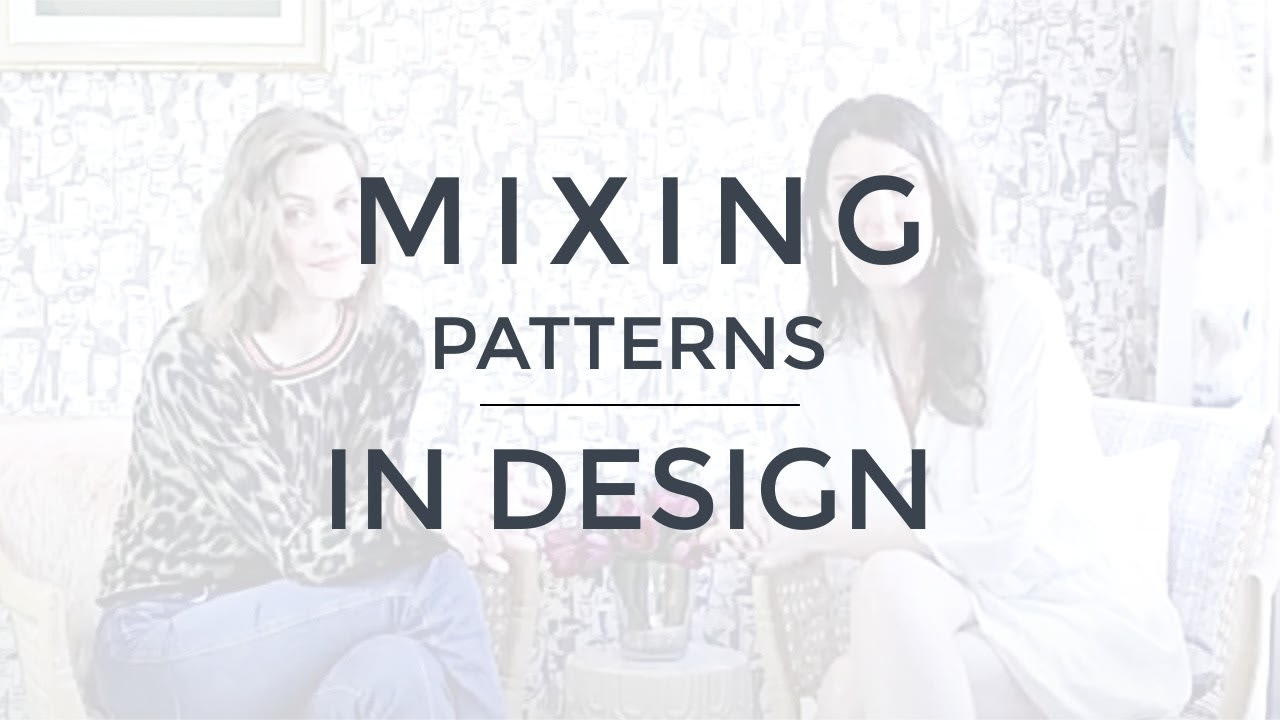 Pattern Mixing in Interior Design video preview