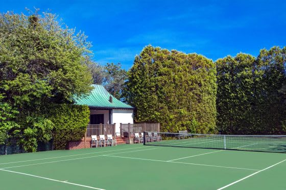Game, Set, Match: 5 Homes with Tennis Courts