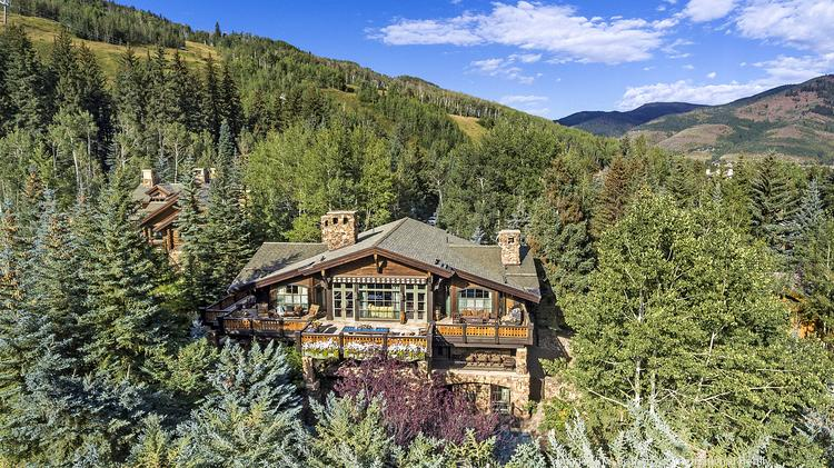 Ski-in, ski-out Vail chalet formerly owned by Johnson & Johnson heiress listed for $26M