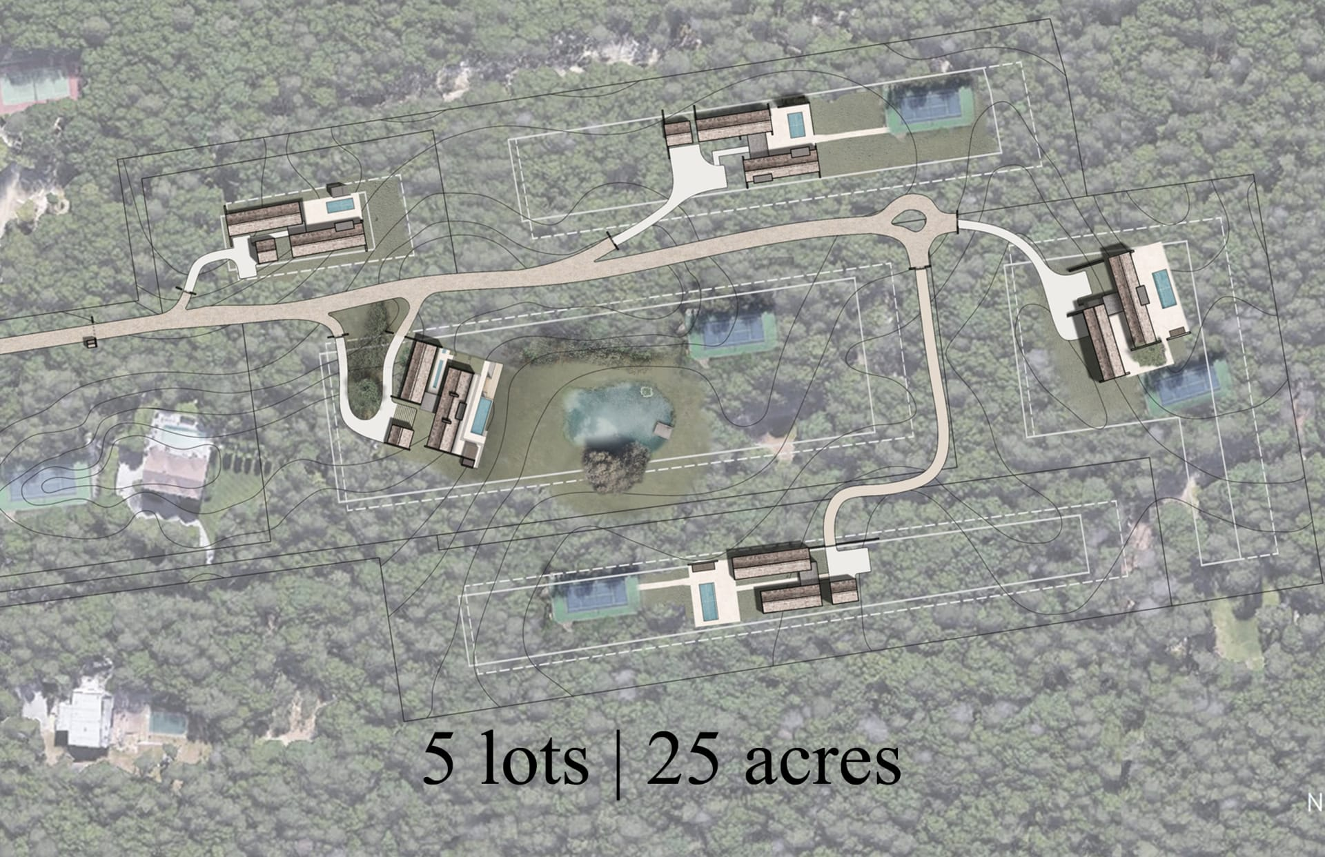 The Residences at Castle Hill - 5 Lot Subdivision