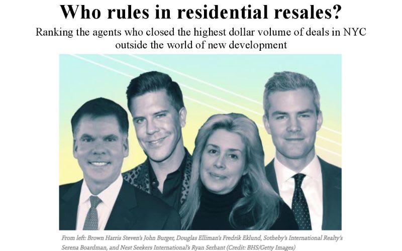 Who Rules In Residential Resales?