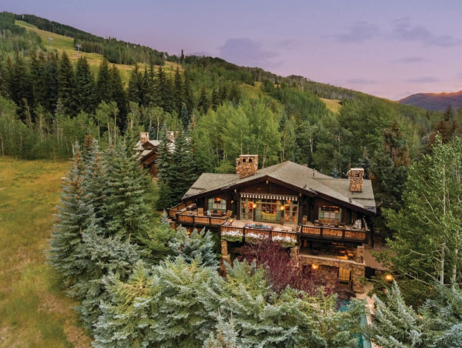A timeless luxury, 375 Mill Creek Circle is Vail's premier ski-in/ski-out property.