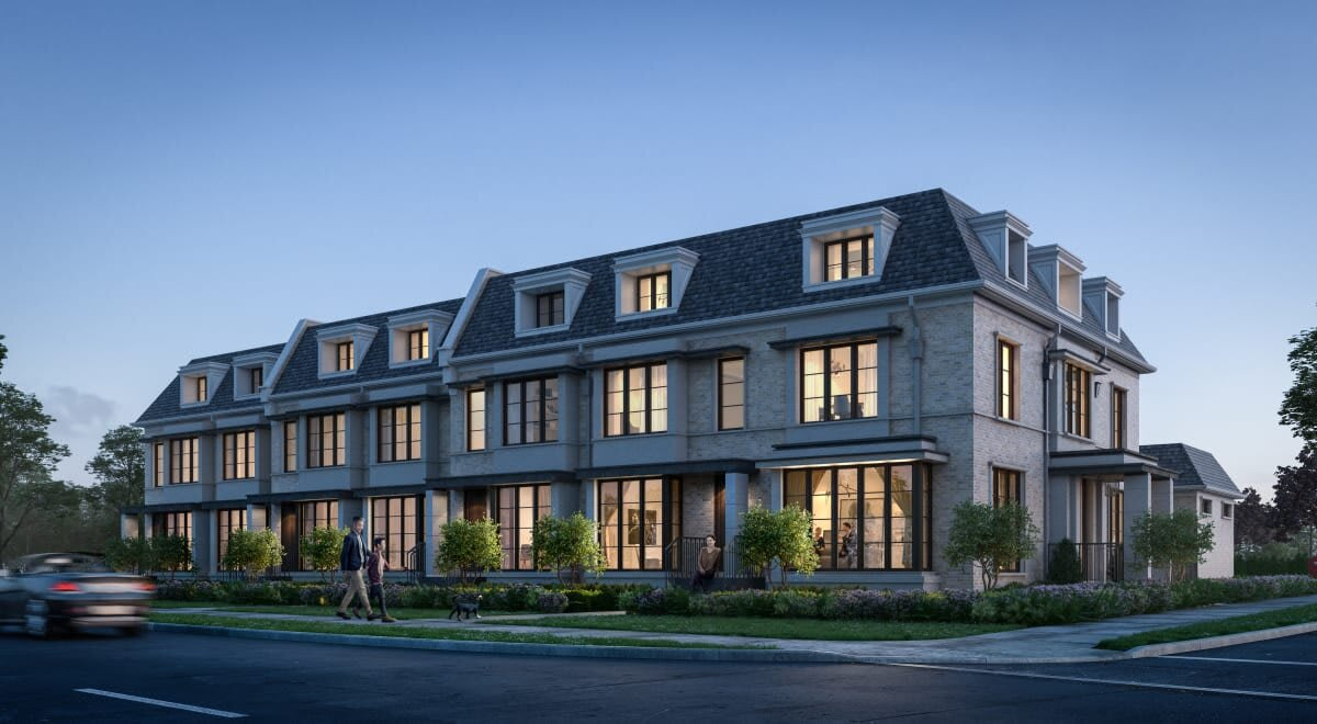 Premium Locale For 7 Rezoned Luxury Town Homes