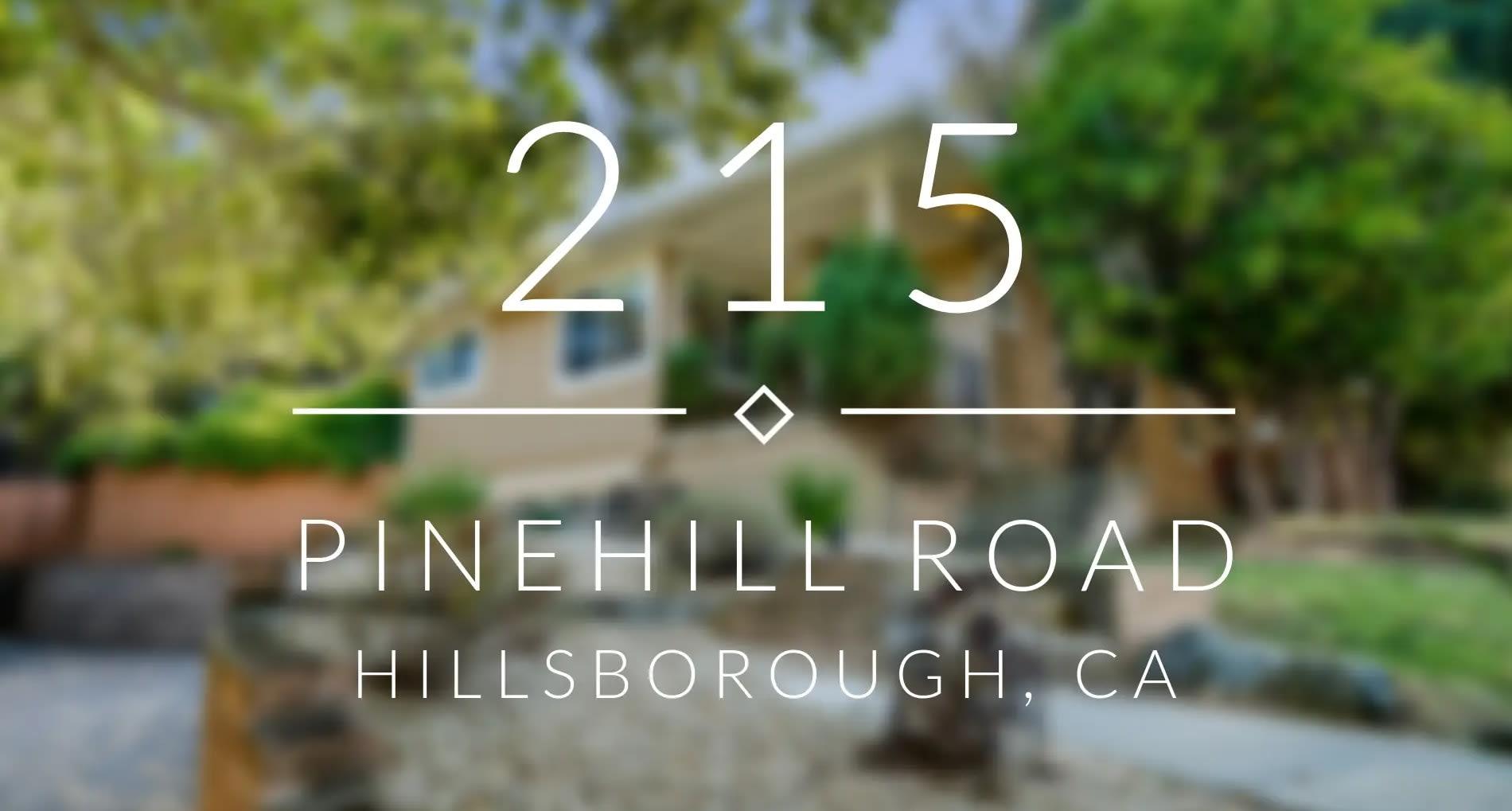 215 Pinehill Rd, Hillsborough video preview