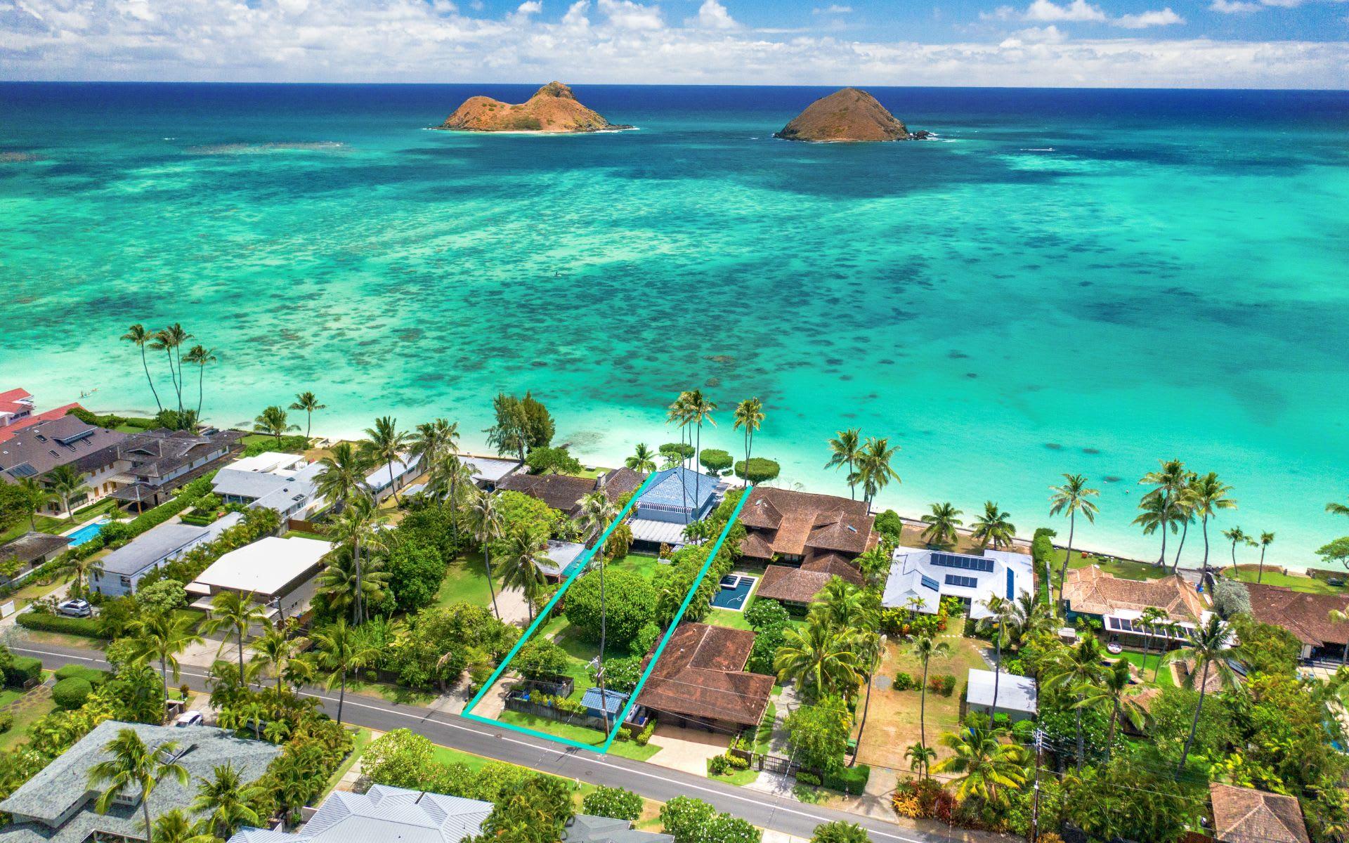 1556 Mokulua Drive, Kailua, Hawaii video preview