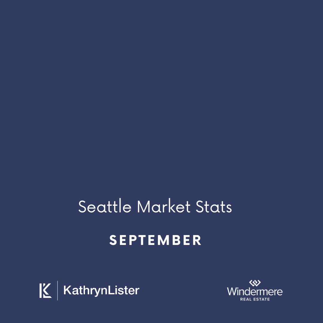 September Seattle Area Market Stats