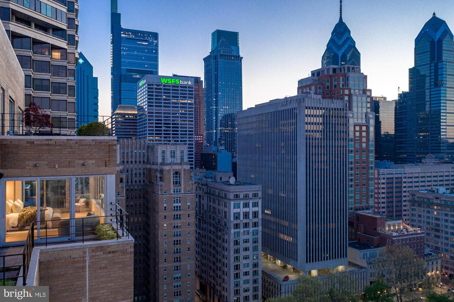 The Sky Penthouse at Two Twenty West Rittenhouse Square