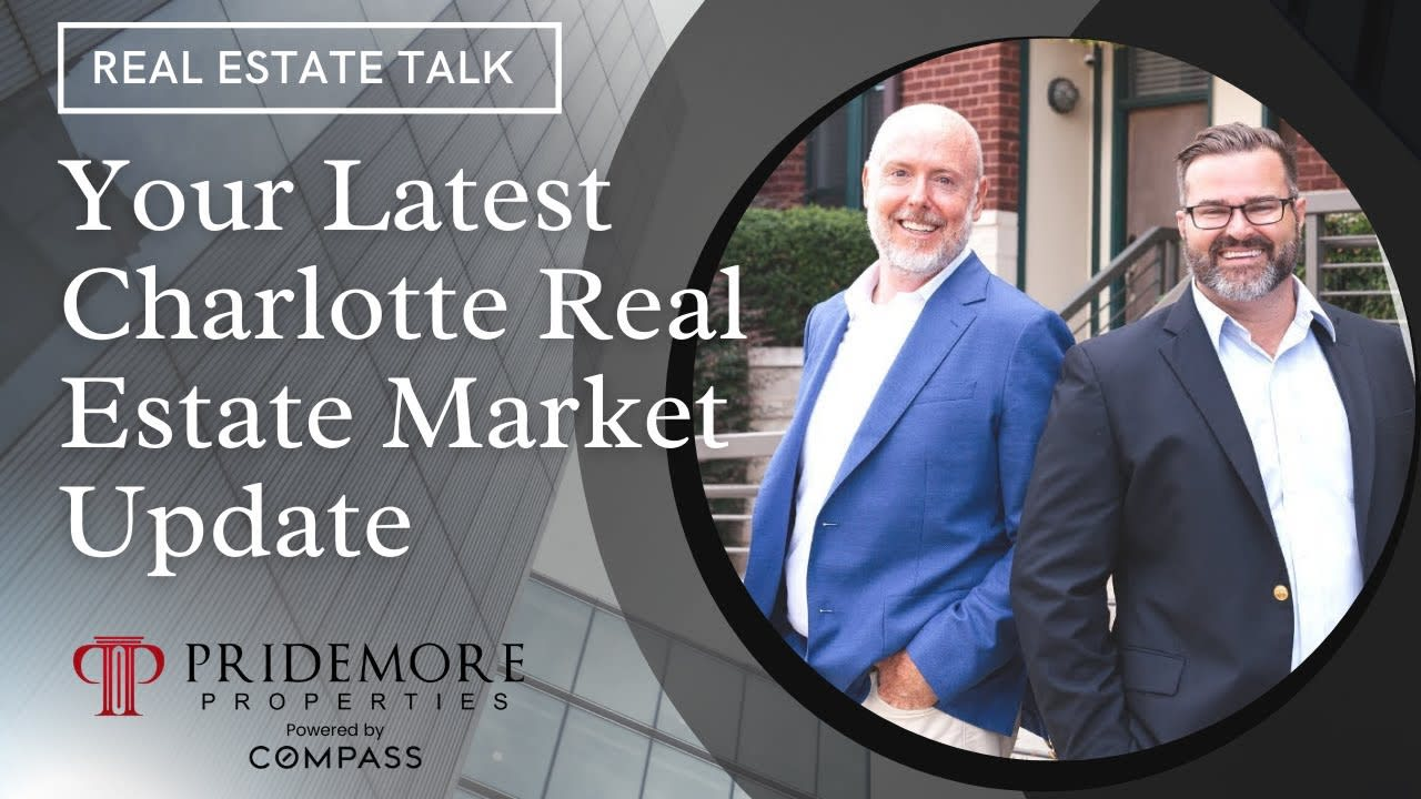 Latest Charlotte Real Estate Market Update 2021   Real Estate Talk video preview