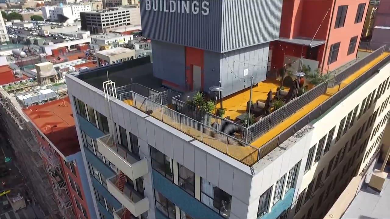 The Cornell Building Loft 310   Downtown LA Fashion District video preview